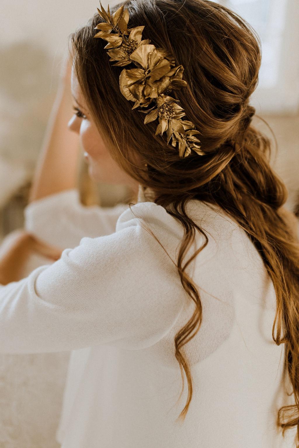 Braut Haarschmuck Nefertiti