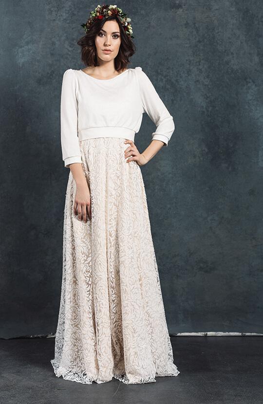 Bridal Pullover Klara ivory