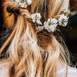 8 Haarnadeln mit Blüten Ornella